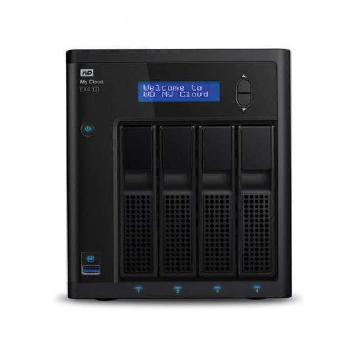 HD Externo NAS WD My Cloud EX4100 16TB